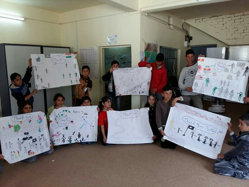 Creative hour for Children in Duhok- Iraq