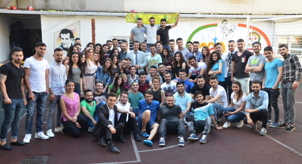 Church Youth Group in Istanbul